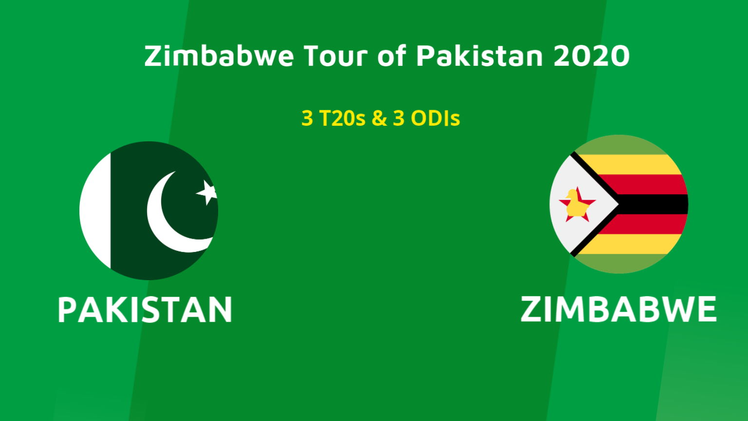 Pakistan vs Zimbabwe 2020 Series