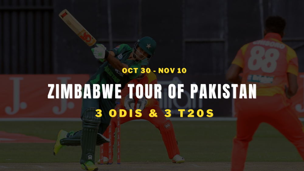Pakistan vs Zimbabwe Schedule 2020