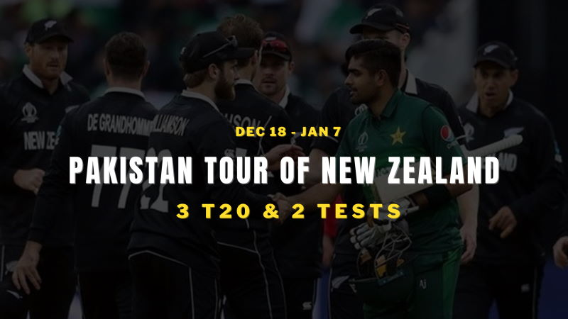 Pakistan vs New Zealand Schedule 2020 - 2021