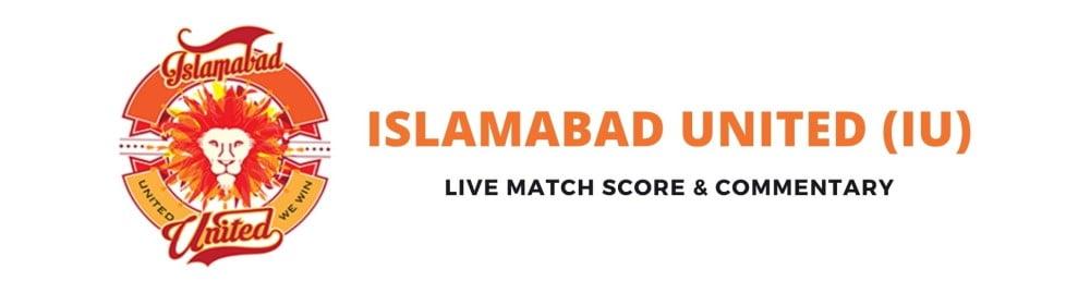 islamabad united live score