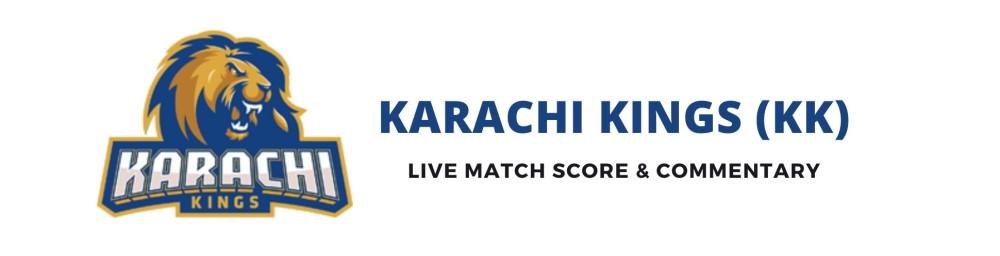 karachi kings live score
