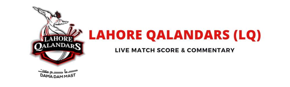 lahore qalandars live score