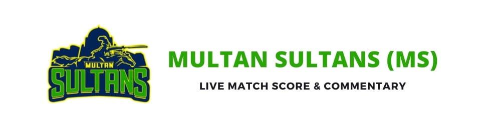 multan sultans live score