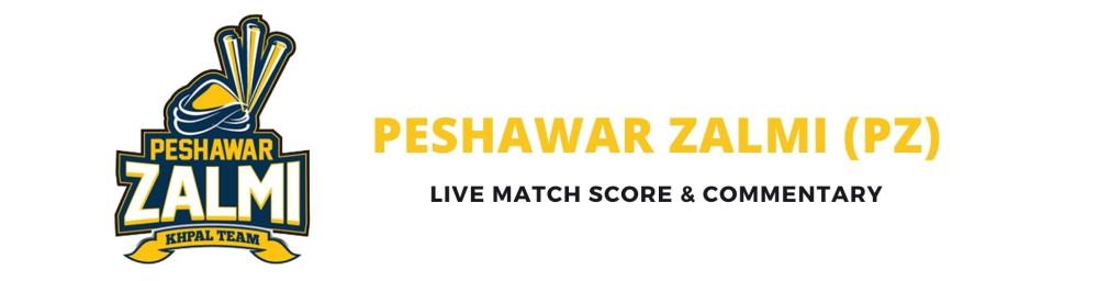 peshawar zalmi live score