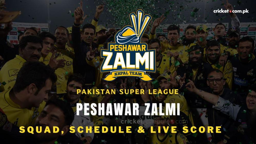Peshawar Zalmi Team, Squads, Schedule and Wiki