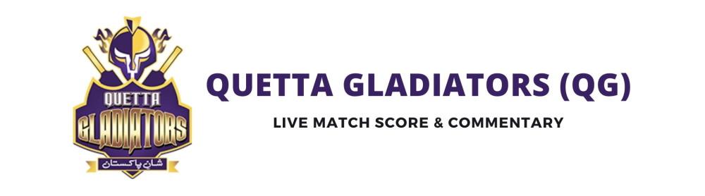 quetta gladiators live score